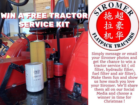 Win a Free Tractor Service Kit