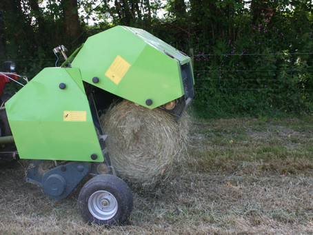Ever wished you could bale hay with your compact tractor?