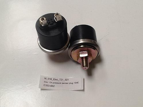 Oil pressure sensor plug
