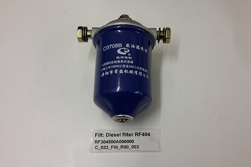 Fuel filter assembly C0708B