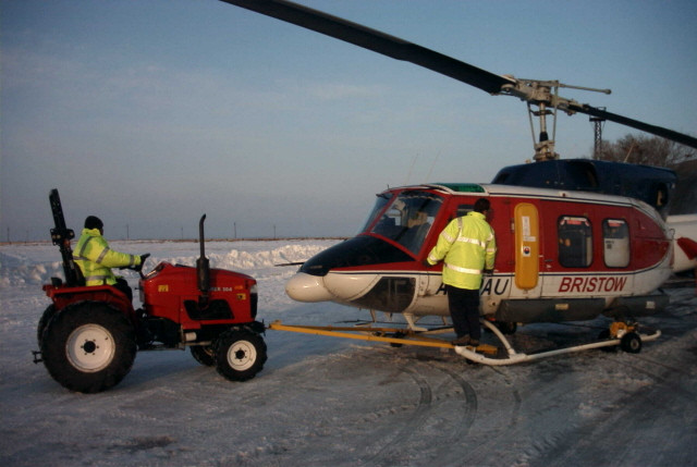 Siromer 304 with Helicopter