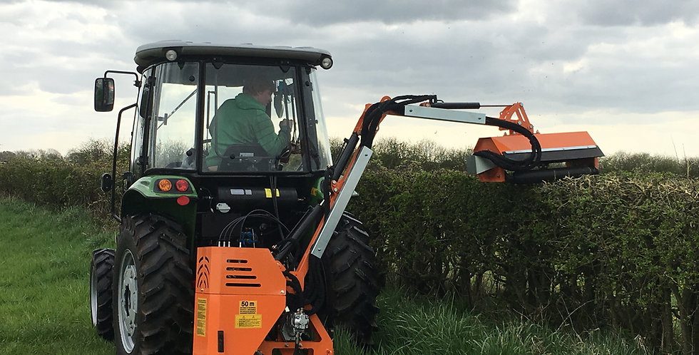 Hedge Trimmer 2.5m reach with flail head