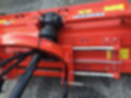 Siromer hydraulic offset flail mower