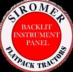 DEFINING ASPECTS-BACKLIT INSTRUMENT