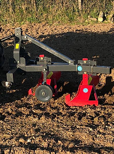 two furrow plough