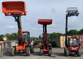L+ M+ MT wheeled loaders