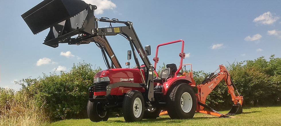 Siromer 354E with loader and backhoe