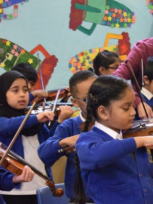 Y2 violin group