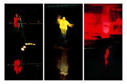 The Ferryman, triptych,