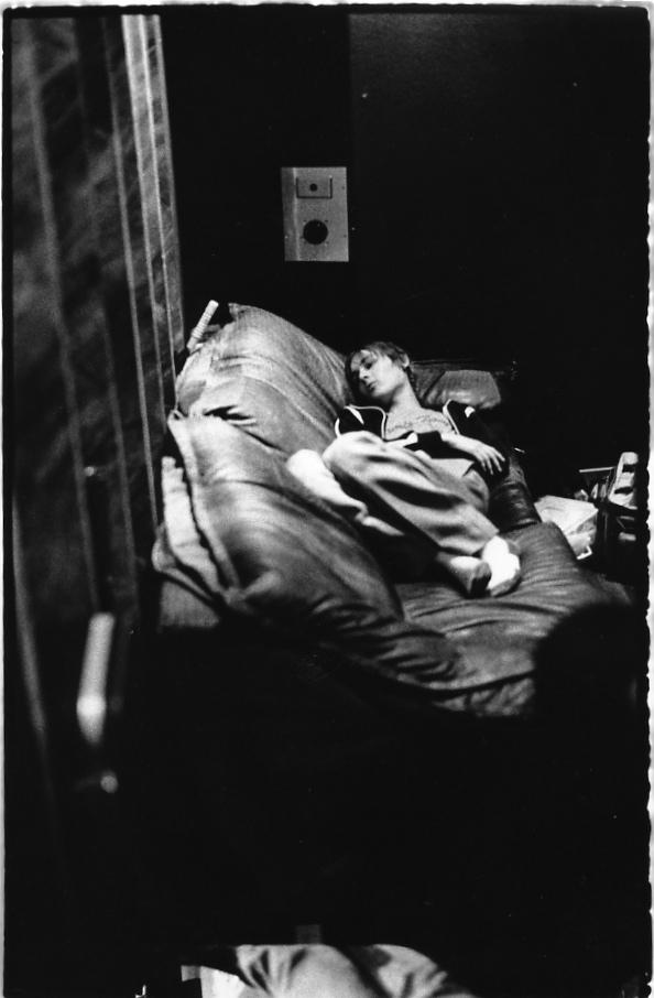 Daniel sleeping