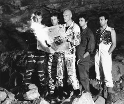 Band in Jenolan Caves