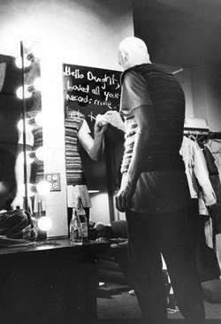 Peter Garret mirror