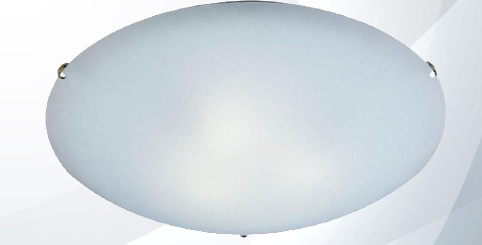 Plafon Clean 30Cm 2 Lâmpadas - Bronzearte