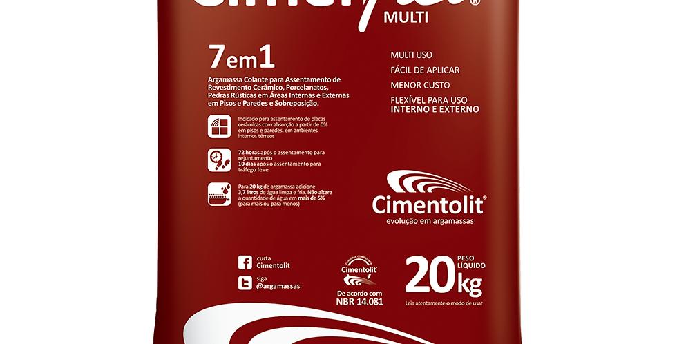 Argamassa 7x1 Cimenflex - Cimentolit