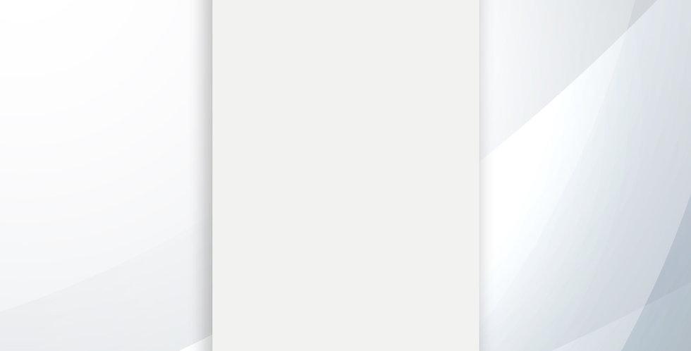 Revestimento 33x60 Branco Neve Brilhante - Lume Cerâmicas