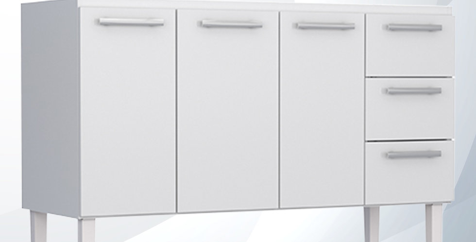 Gabinete de Cozinha 1.50 Aço Vênus - Cozimax