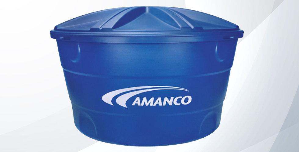 Caixa D' Água Boca Aberta Tripla Camada 310l - Amanco Wavin