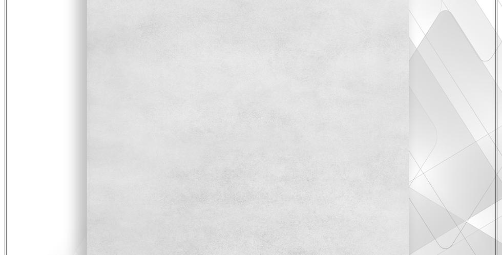 Piso LEF 56x56 Cimento Cinza