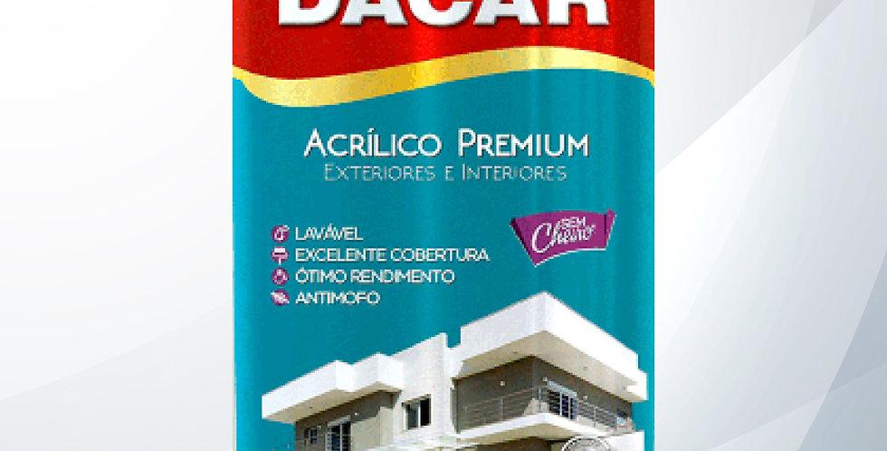 Tinta Acrílico Premium Fosco 18L - Dacar