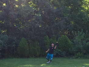 Playing Catch With My Son