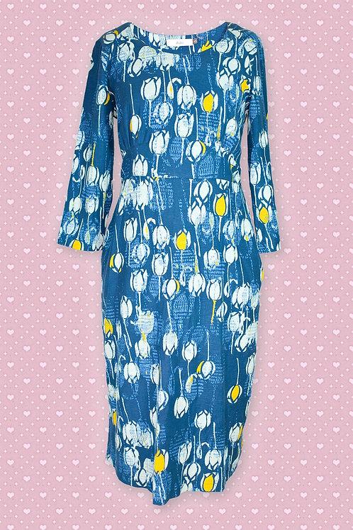 Adini 'Anthea' Blue & Light Blue Dress