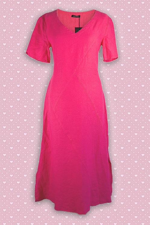 Pomodoro Linen Dress