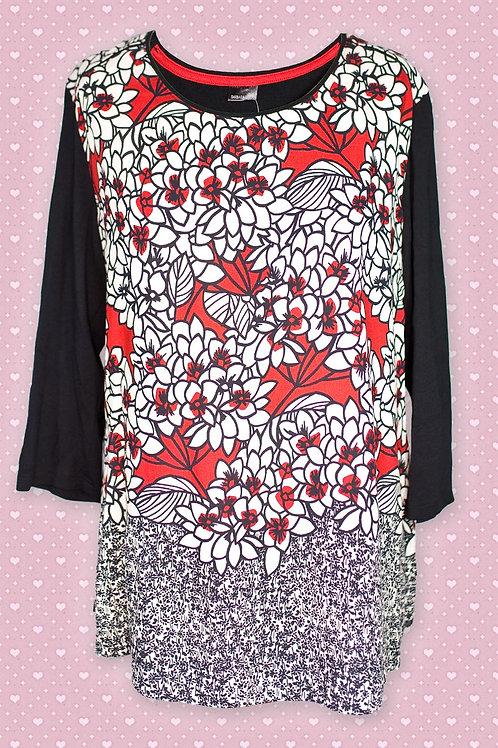 Barbara Lebek Flower Print Tunic