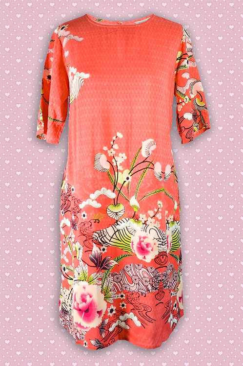 Orientique 'Bologna' 100% Rayon Tunic Dress