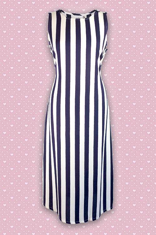 Adini 'Mainsail' 100% Viscose Sleeveless Dress