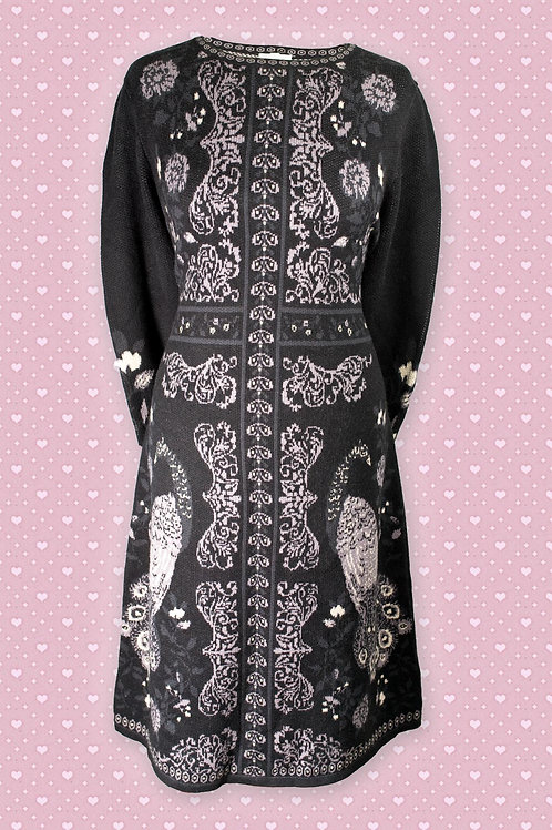 Thought Peacock Cotton & Wool Dress