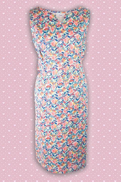 Adini 'Deborah' Cotton Printed Sleeveless Dress