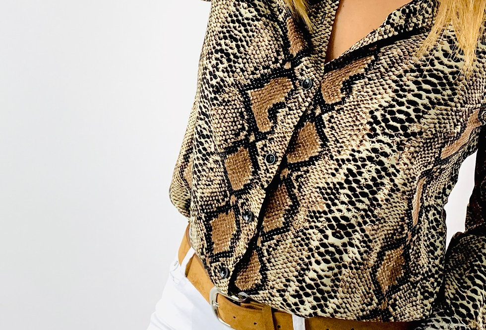 Camisa serpiente. CA001