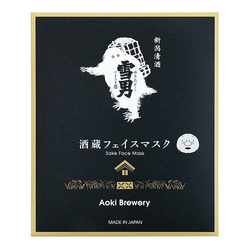 新潟清酒面膜 - 雪男