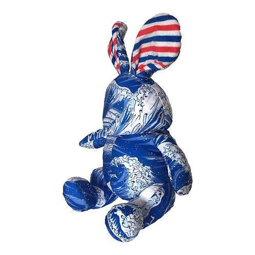 GetSet浮世繪兔仔多用途頸枕連圍巾