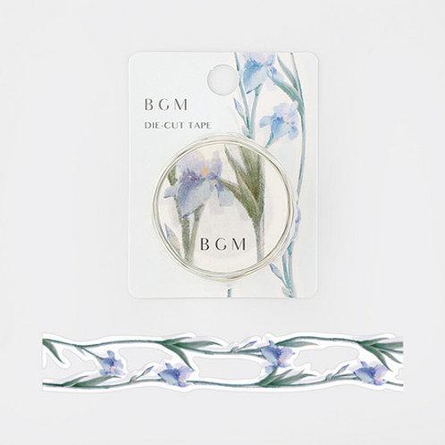 手繪水彩紙膠帶 — 花語系列 - 燕子花💐