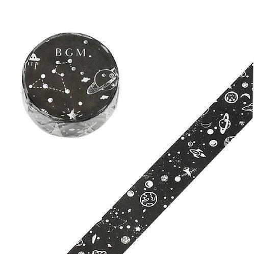 手繪水彩紙膠帶 — 星空系列 - 永夜 💫