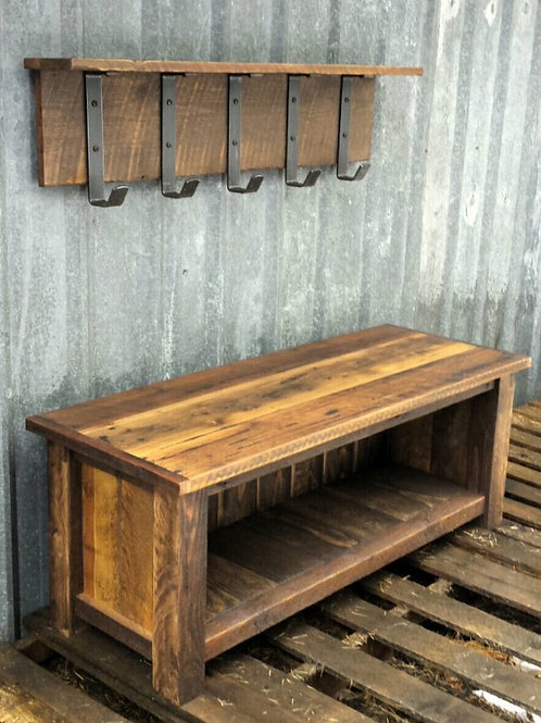 Rustic Reclaimed Entry Set