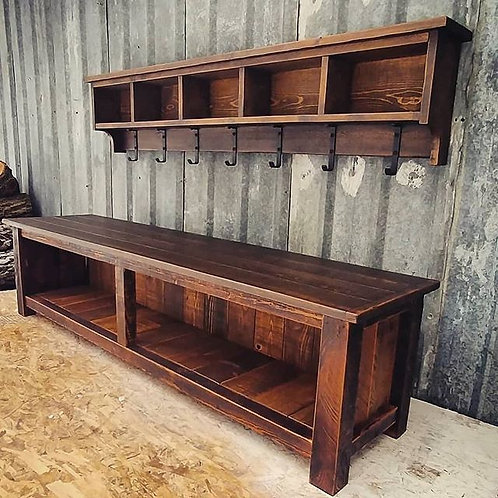 Modern Farmhouse Bench Only
