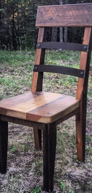 Rustic Modern Dining Chair