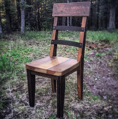 Stupendous Rustic Modern Dining Chair Ncnpc Chair Design For Home Ncnpcorg