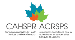 Abstract accepted to CAHSPR Conference