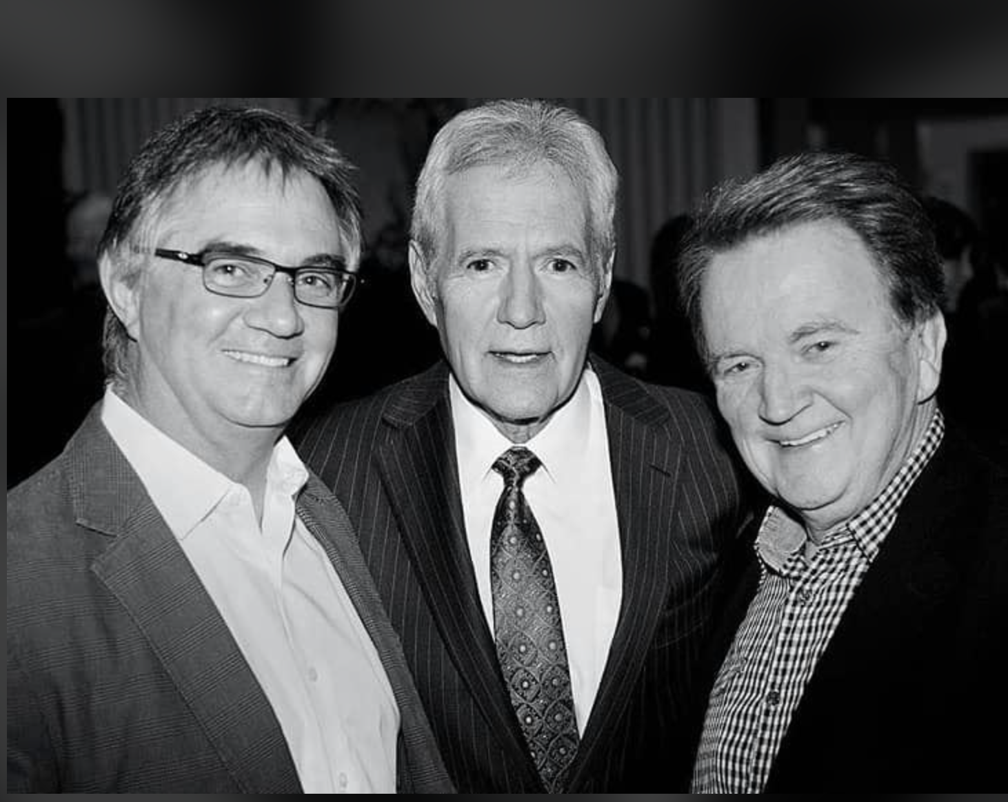 With Hart Hanson and Alex Trebek