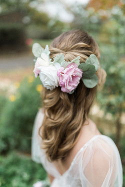 Peony Perfection Hairpiece
