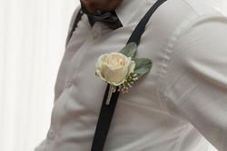 Blush Rose Buttonhole