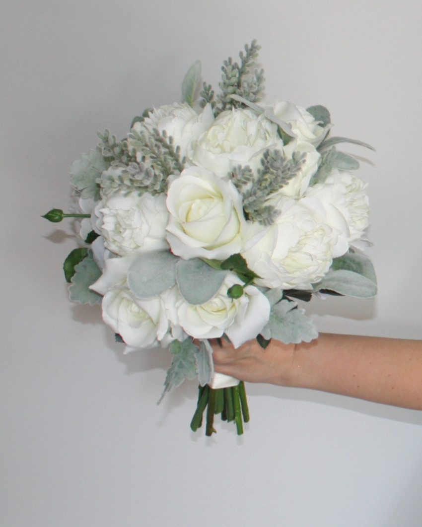 White & Green Bouquet