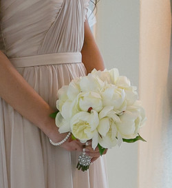 Ivory Bridemaid Bouquet