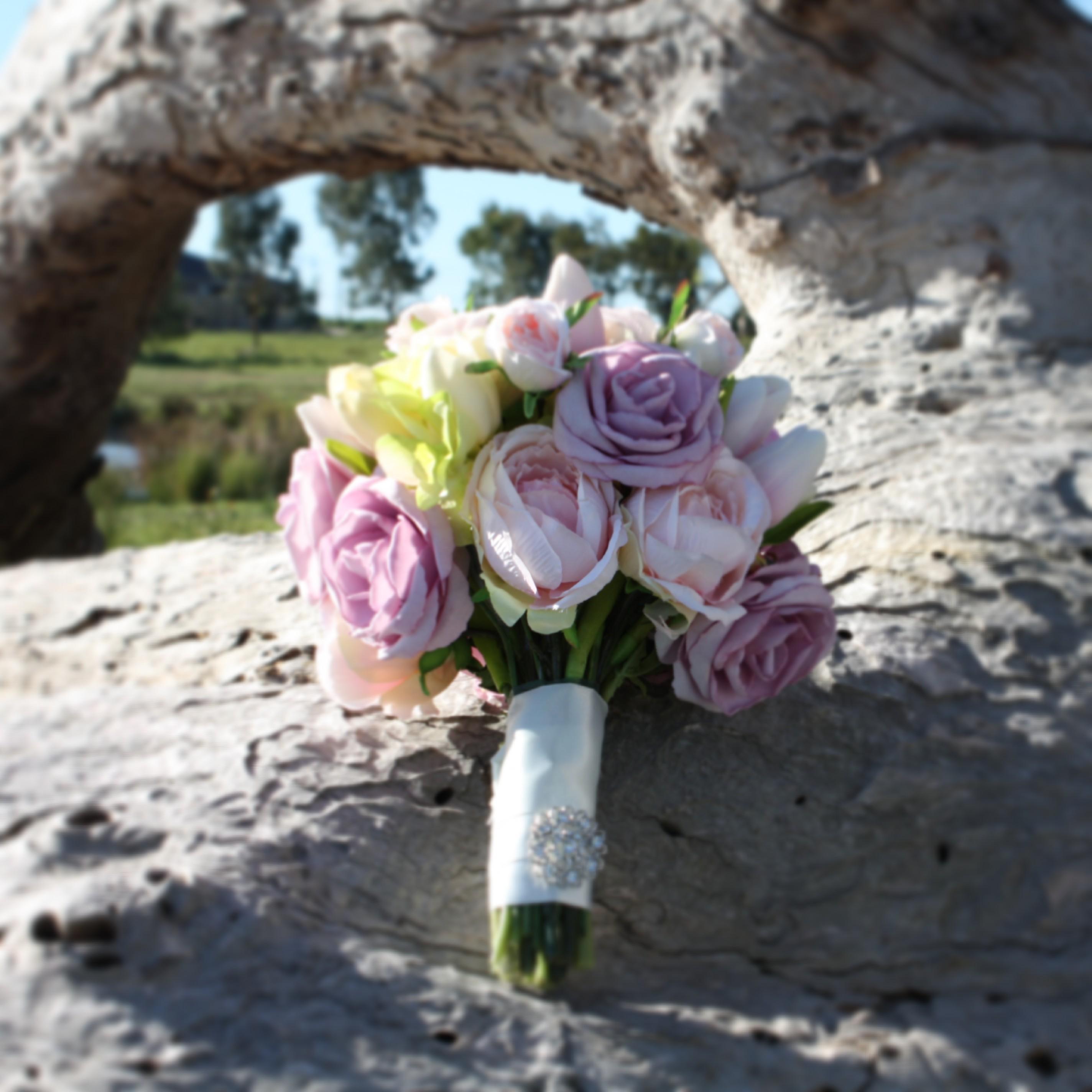 Tulip, Peony & Rose Bouquet