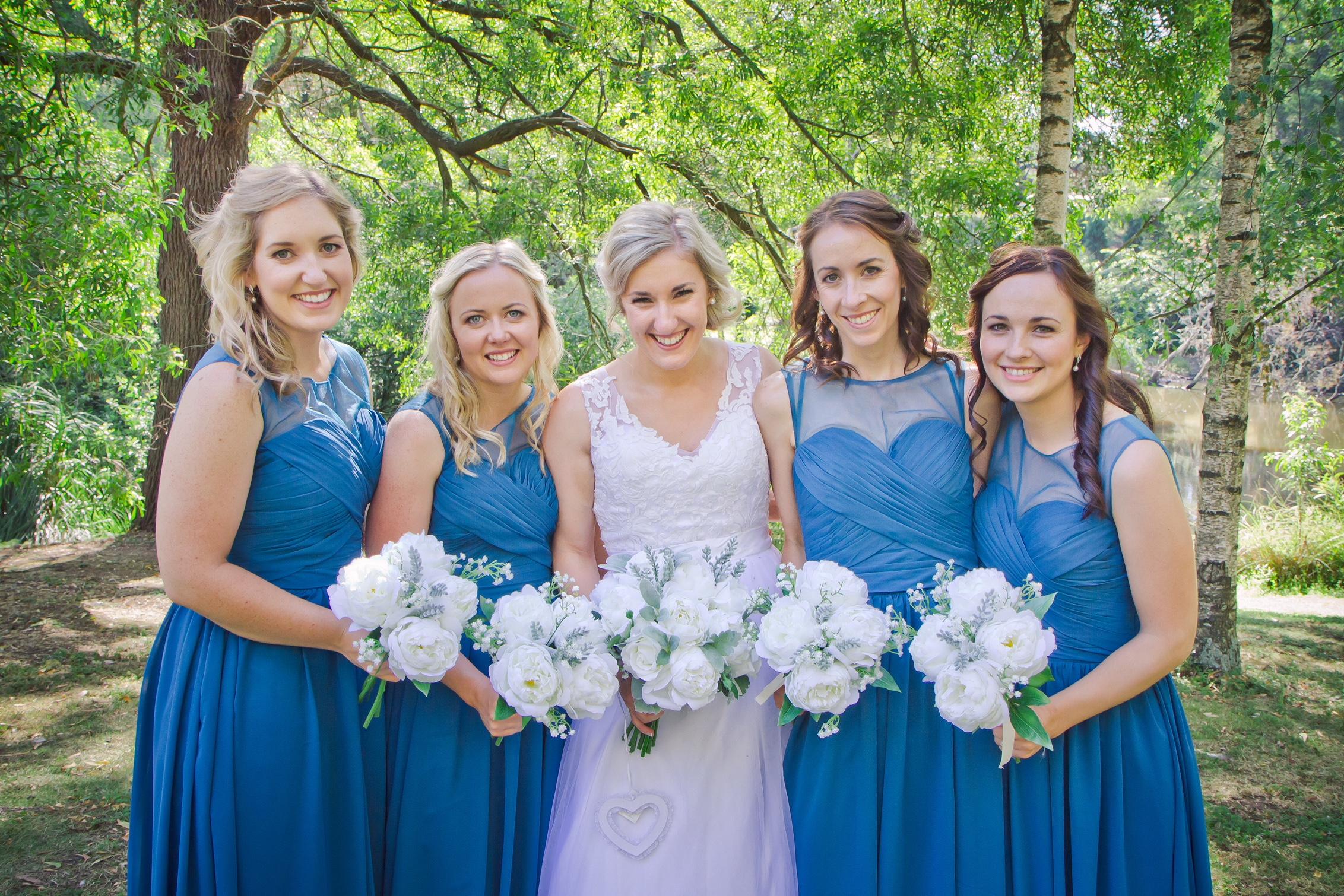 Rochelle & Bridesmaids