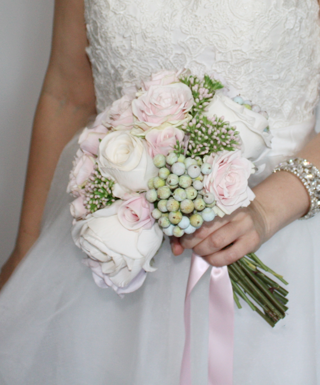 Rachel's Rose & Berry Bouquet
