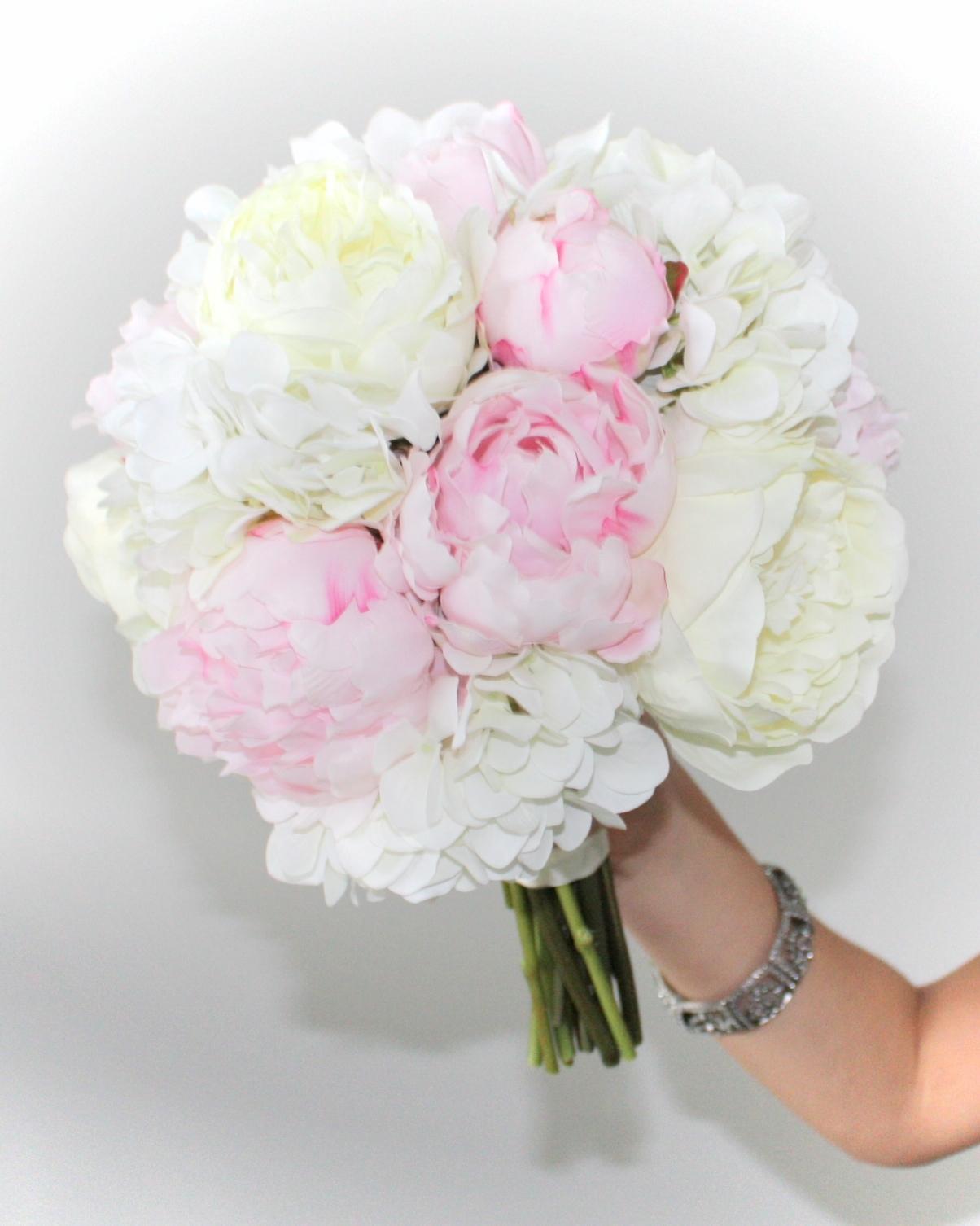 Peonies & Hydrangea Bouquet